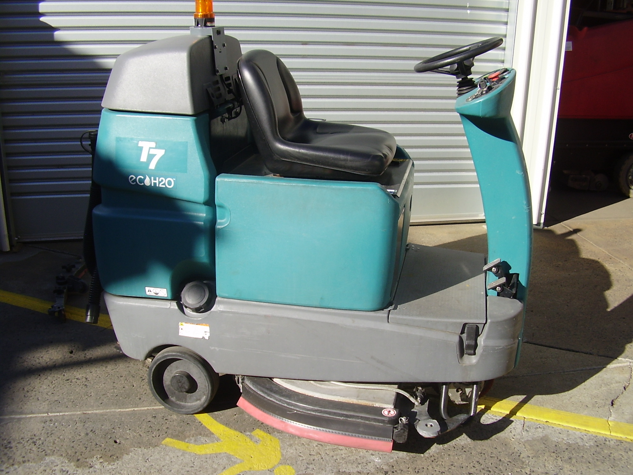 Ride On Floor Scrubber Used Carpet Vidalondon