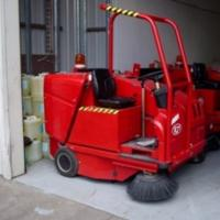 Used RCM Boxer - Battery Rider Vacuum Sweeper