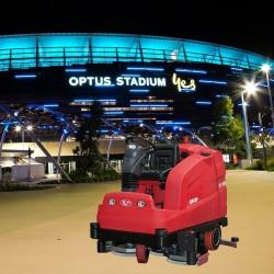 RCM *TERA* Rider Floor Scrubber SOLD to OPTUS Stadium by our Perth Dealer WACER Pty Ltd
