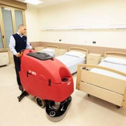 Floor Sweepers and Floor Scrubbers for Health Care