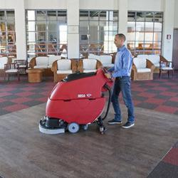 Floor Sweepers and Floor Scrubbers for Municipalities