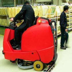 Floor Sweepers and Floor Scrubbers for Retail