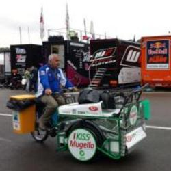 Microcleaning RCM At Zero Emission In The Front Row At The Mugello Circuit Motogp 2014