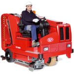 Combined Rider (Ride-On) Floor Sweeper Scrubbers